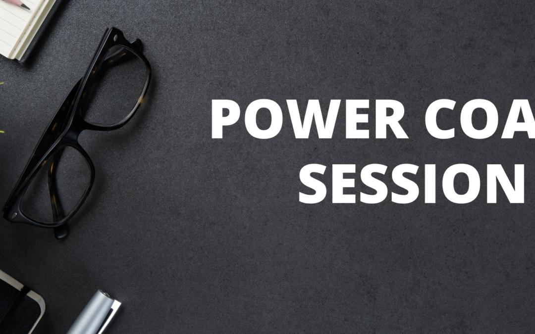 Power Coach Session: Judy Hoberman – September 14, 2021